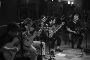 Tango de Soie, Lyon 2014 avec William Sabatier (bandoneon)